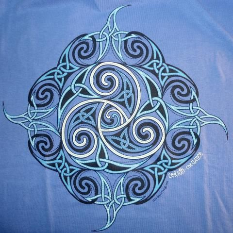Ceilidh Celtic T-Shirt   Many Hands Gallery