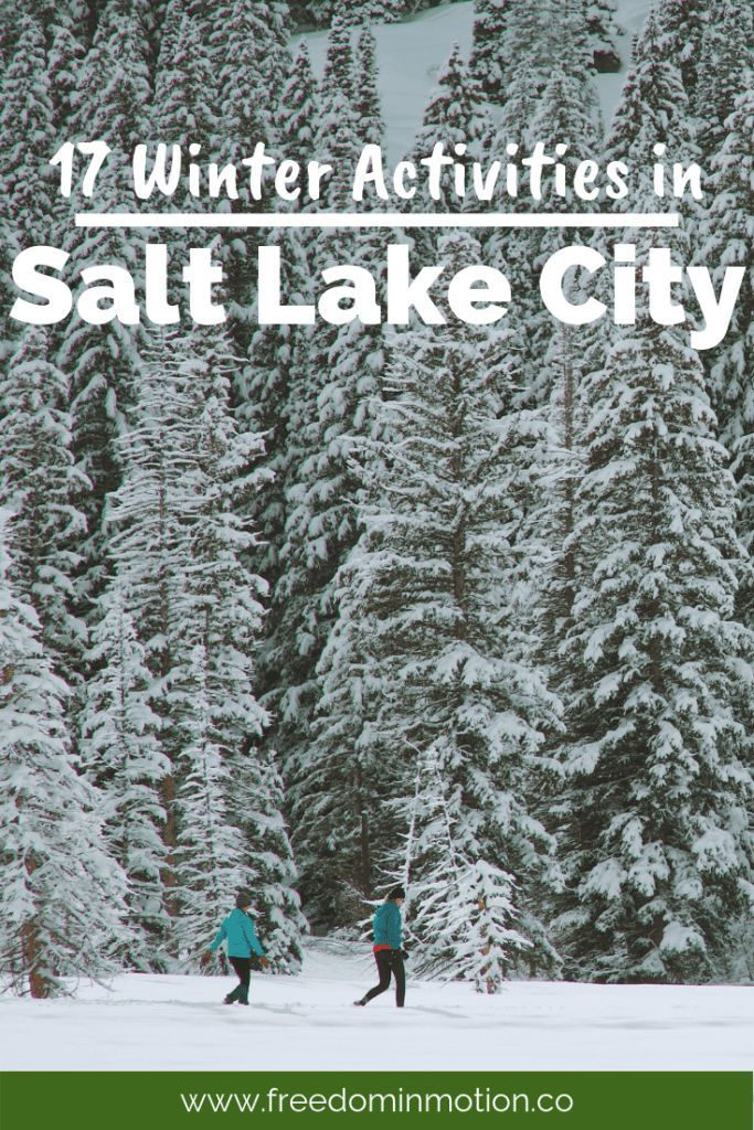 You won't be bored during a Salt Lake City winter. There are plenty of winter activities to keep you busy–like snowshoeing in Millcreek Canyon, skiing at Snowbird, cross country skiing at the Nordic Center at Solitude, or stay in the Valley and catch a Jazz game. There are plenty of coffee shops to cozy up with a book and a hot chocolate, and many hills to sled. You'll love it, and the kids will too!