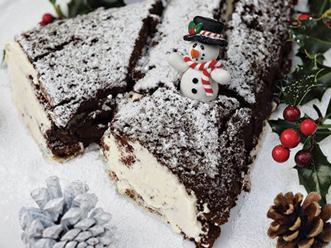 Darina Allen's Irish Christmas chocolate log recipe