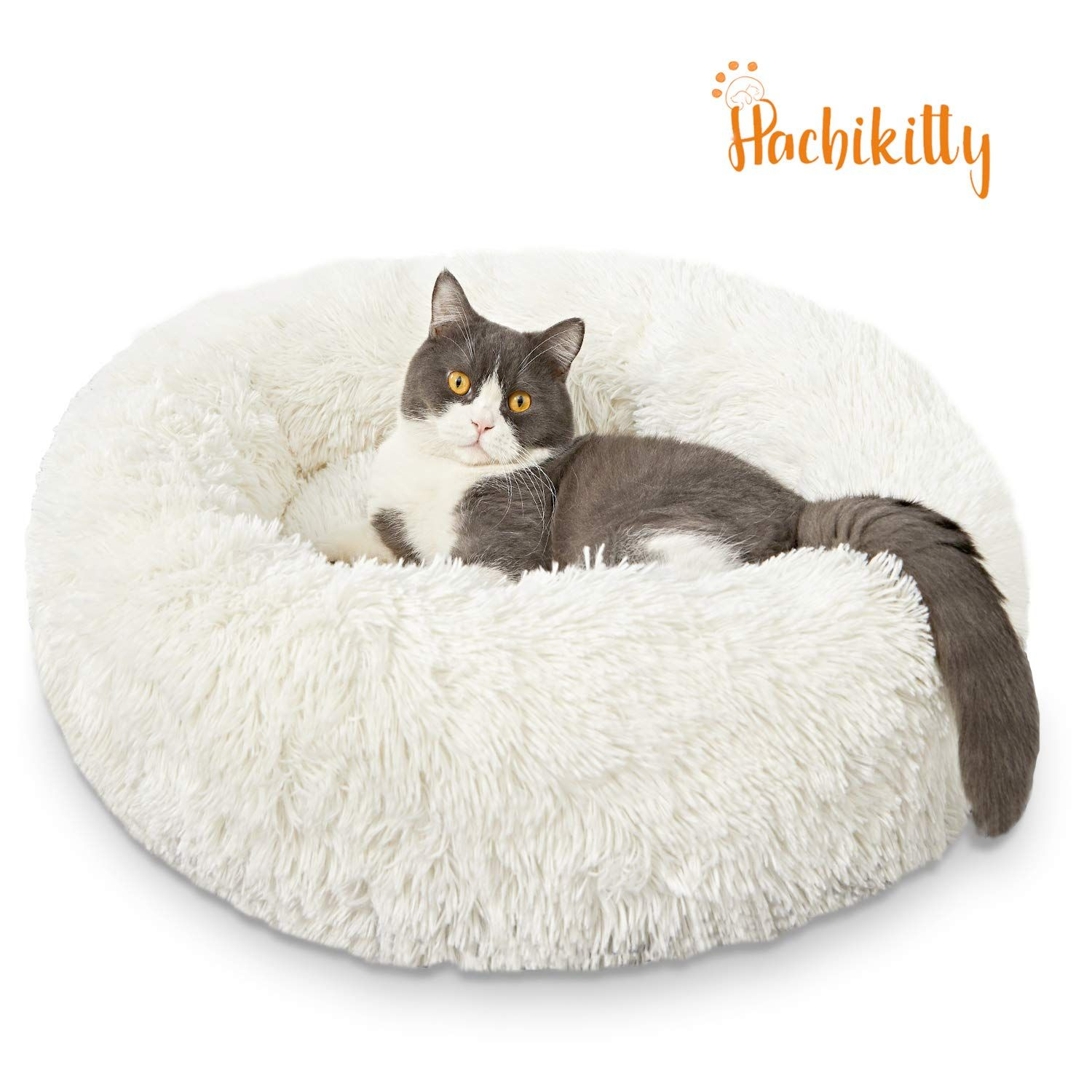 Hachikitty Dog Beds Comfy Donut Cuddler More Info Could Be Found At The Image Url It Is An Affiliate Link To Amazo Puppy Dog Beds Donut Dog Bed Puppy Beds