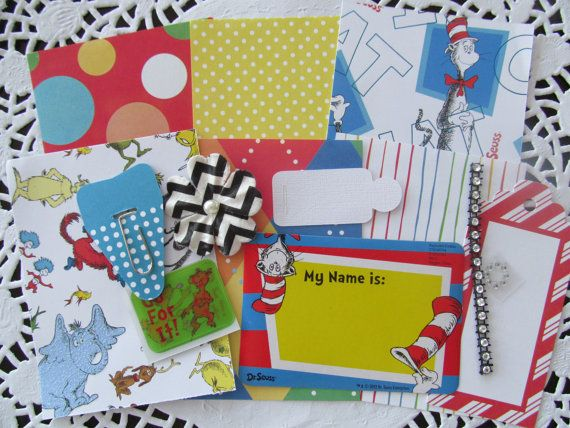 Hey, I found this really awesome Etsy listing at http://www.etsy.com/listing/176959468/drsuess-project-life-3x4-kit-scrapbooks