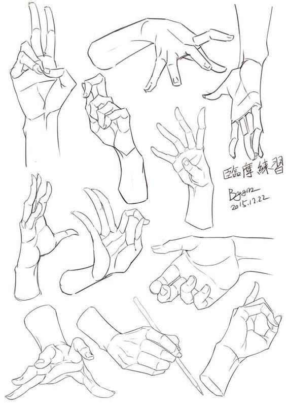 Pin de Aslanbek Sabanshi en Как рисовать тело человека | Pinterest ...