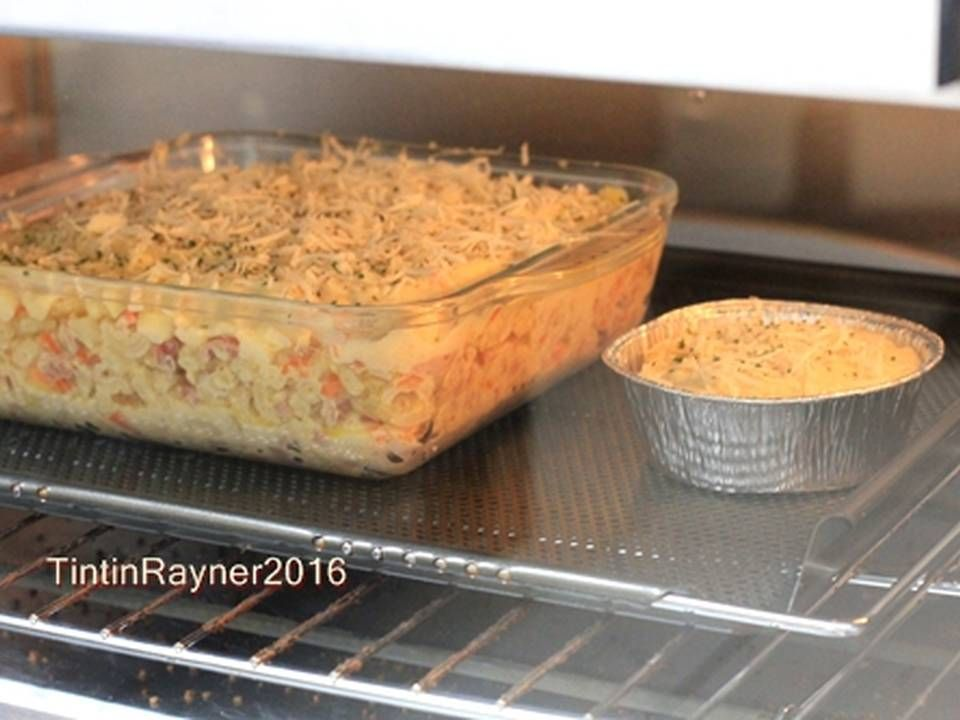 Resep Super Cheesy Macaroni Schotel Panggang Oleh Tintin Rayner Resep Resep Resep Biskuit Makanan Italia