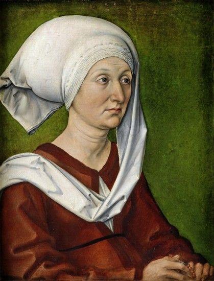 'Portrait of the Artist's Mother, Barbara Dürer, née Holper', ca. 1490 - El genio de Durero - 20minutos.es
