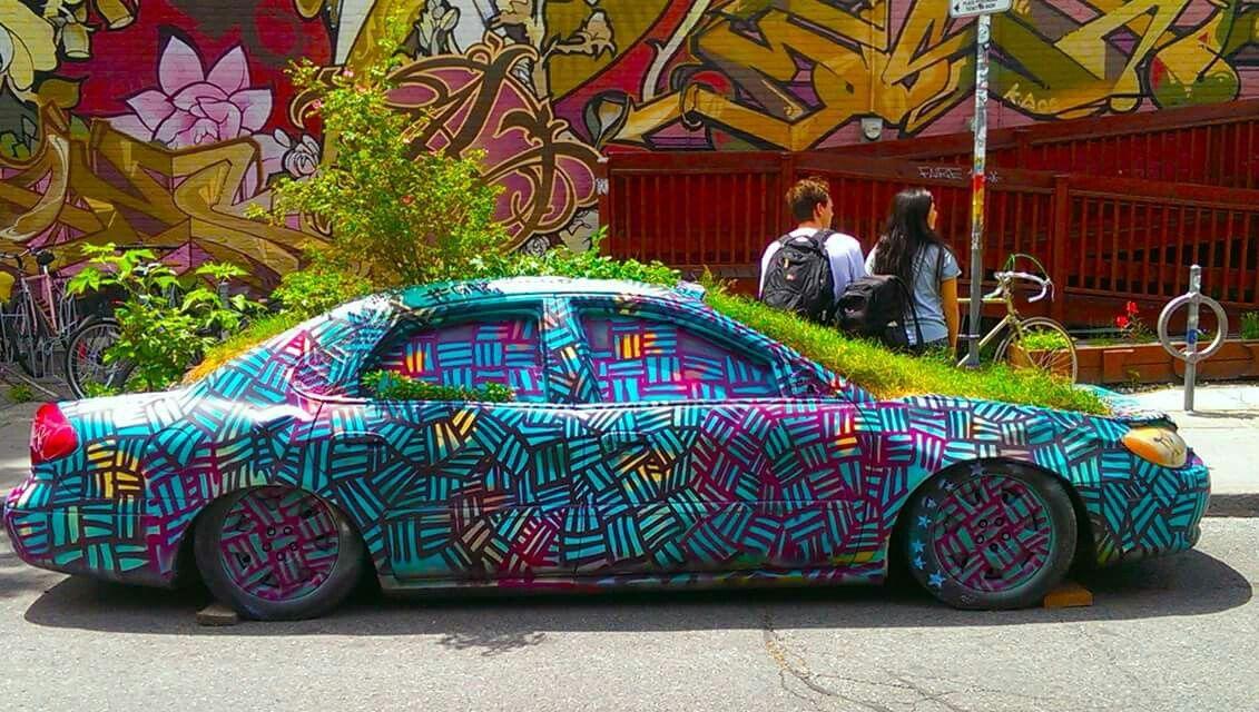 Kensington Market Street art, Graffiti, Marketing