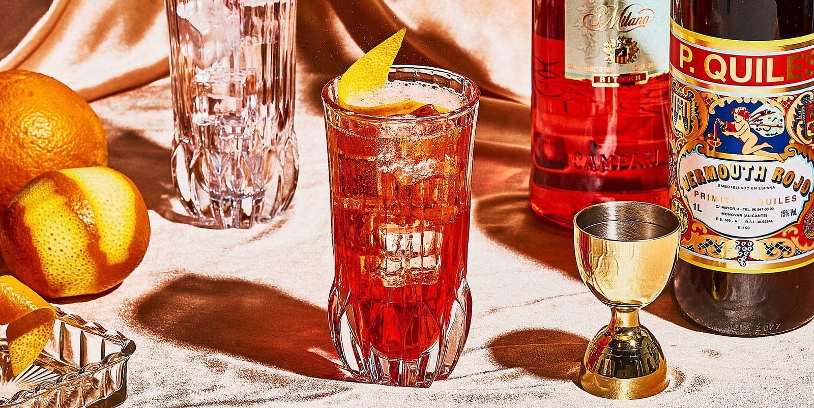 When A Negroni Seems Too Heavy Make Yourself An Americano Cocktail In 2020 Old Fashion Drink Recipe Americano Negroni