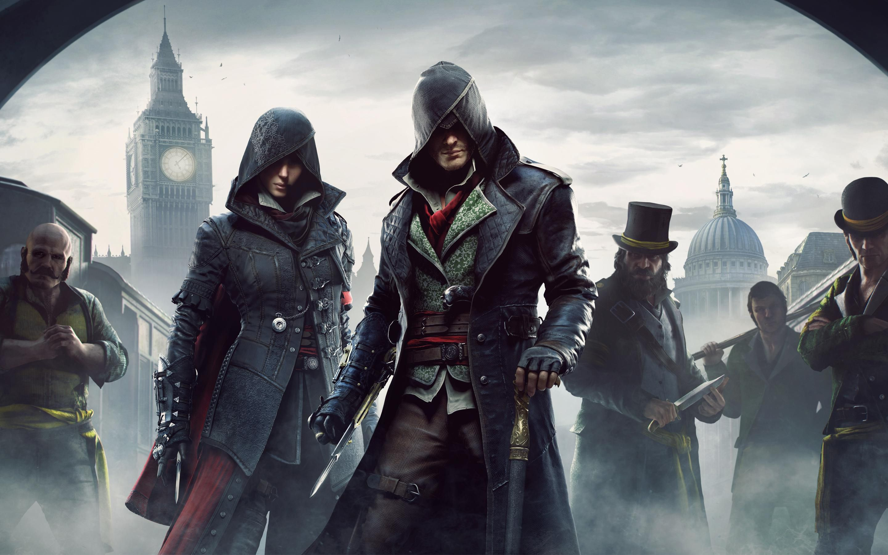 assassin'-s creed syndicate jacob and evie wallpaper - Google ...