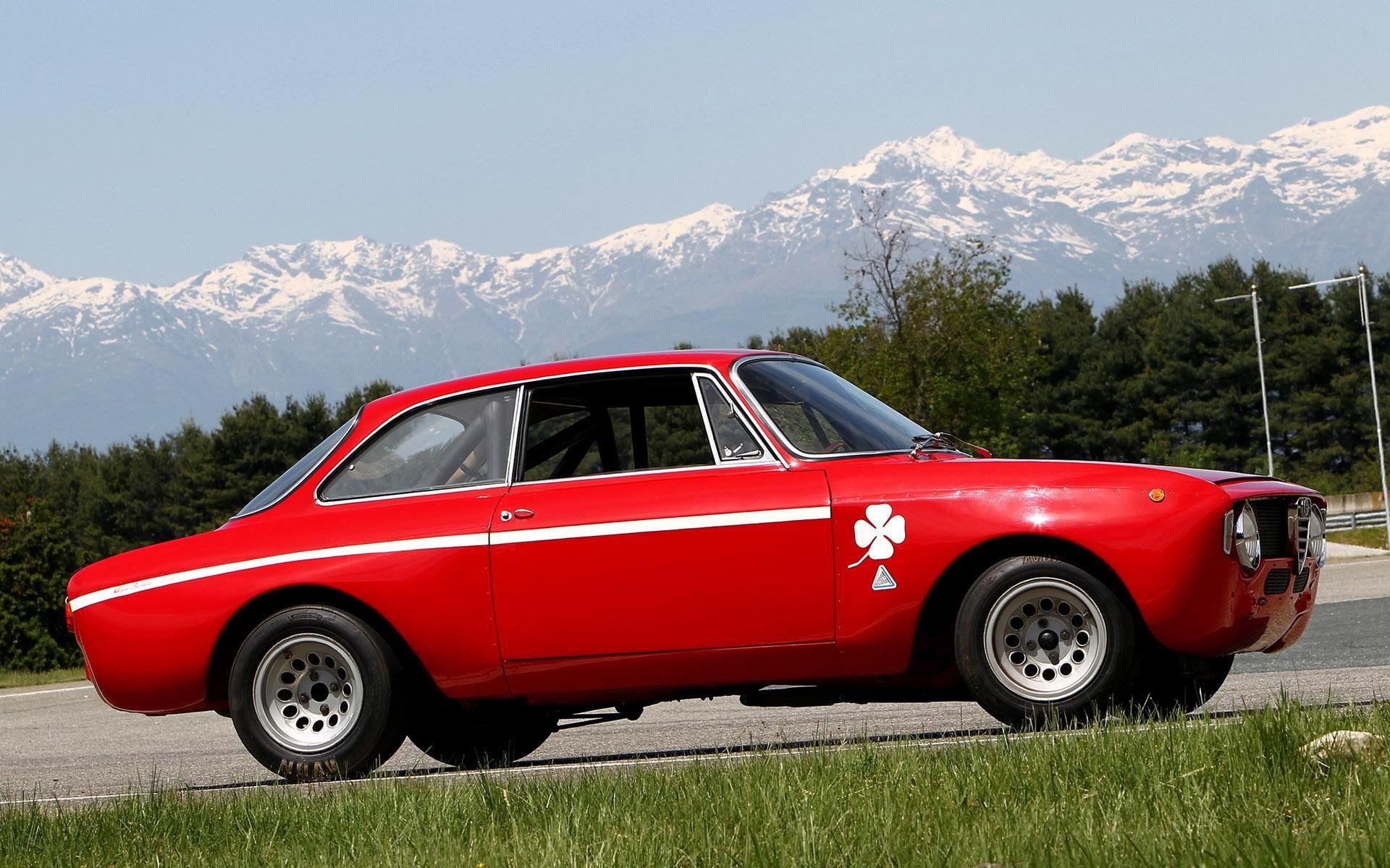 1968 Alfa Romeo Gta Red Coupe Cars 1920x1200 Alfa Romeo Alfa Romeo Gta 1080p Wallpaper Hdwallpaper Desktop Alfa Romeo Gta Alfa Romeo Alfa Romeo Giulia