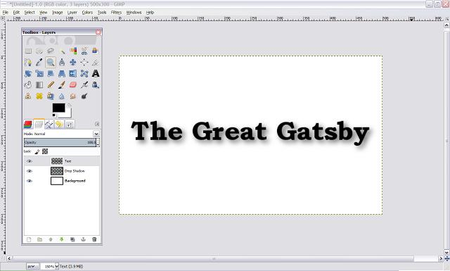 Gimp Design Tutorial For Beginners How To Make A Basic Text Drop Shadow Gimp Tutorial Gimp Tutorial