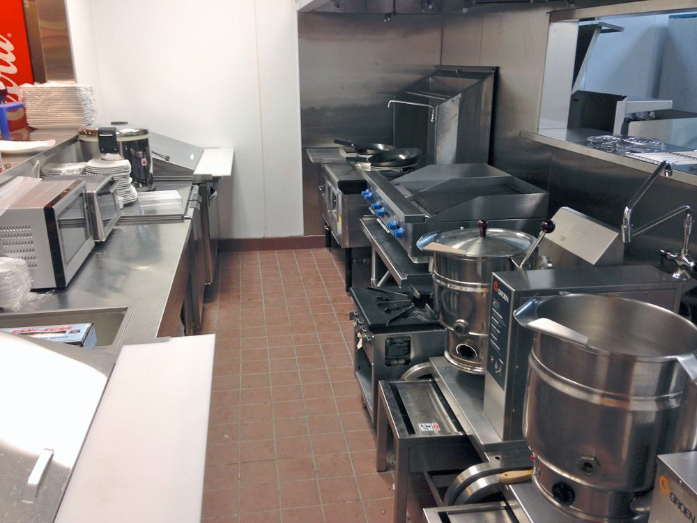 fully equipped pho kitchen ready for action - Pho Kitchen