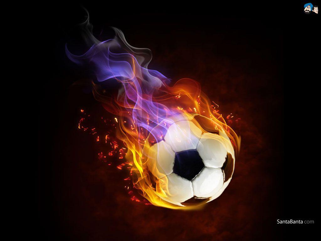Fire Ball Soccer Ball Football Wallpaper Iphone Football Wallpaper