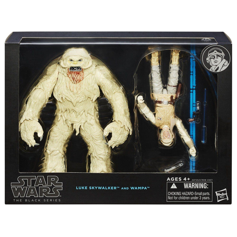 Star Wars The Black Series Luke Skywalker and Wampa 6 Inch Figures