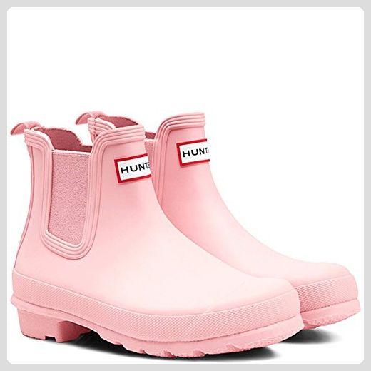 Hunter Original Chelsea Damen Stiefel Pink - Stiefel für frauen  (*Partner-Link)