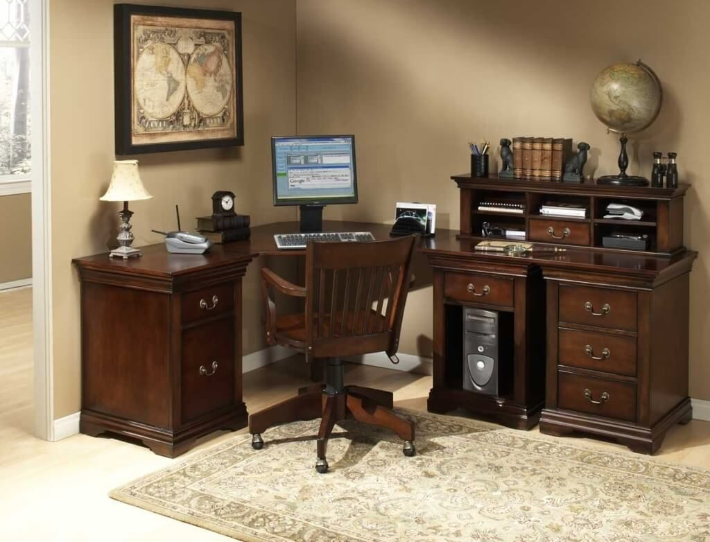 Cool Luxury Oak Home Office Furniture Sets 99 For Your Interior
