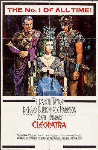 Cleopatra 1963 Movie Posters Cleopatra Movie Posters Vintage