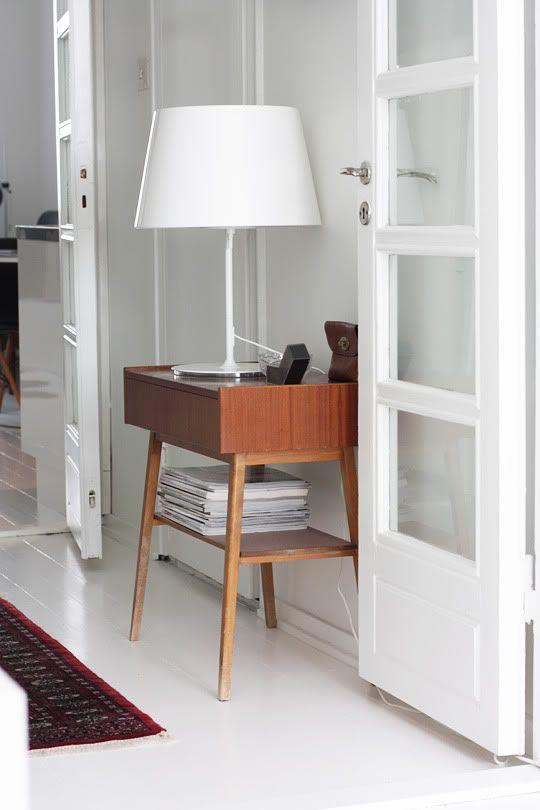 Via Lily | White and Wood | Hallway