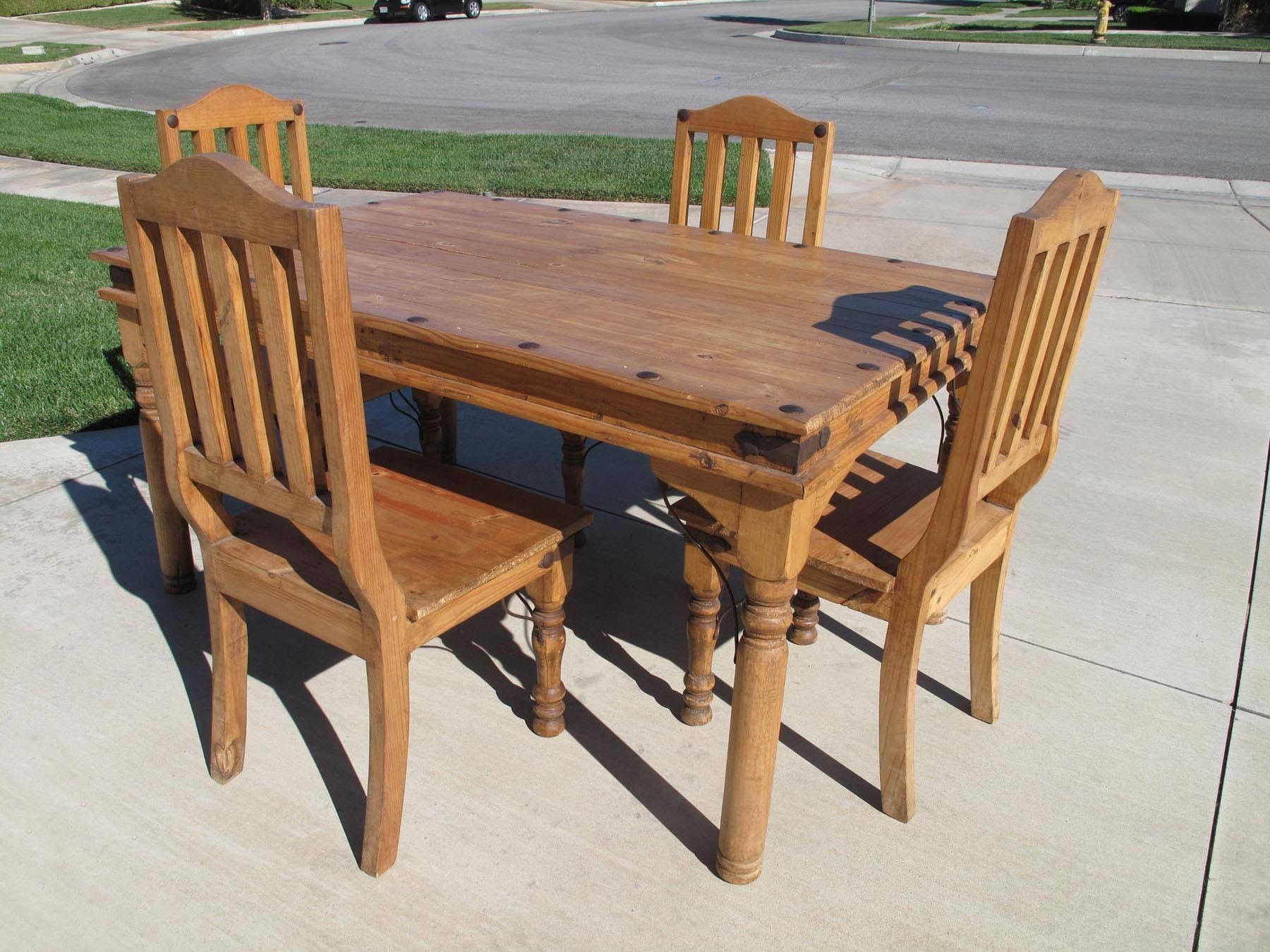 Bought off of Craigslist for $125.00 | Rustic furniture ...