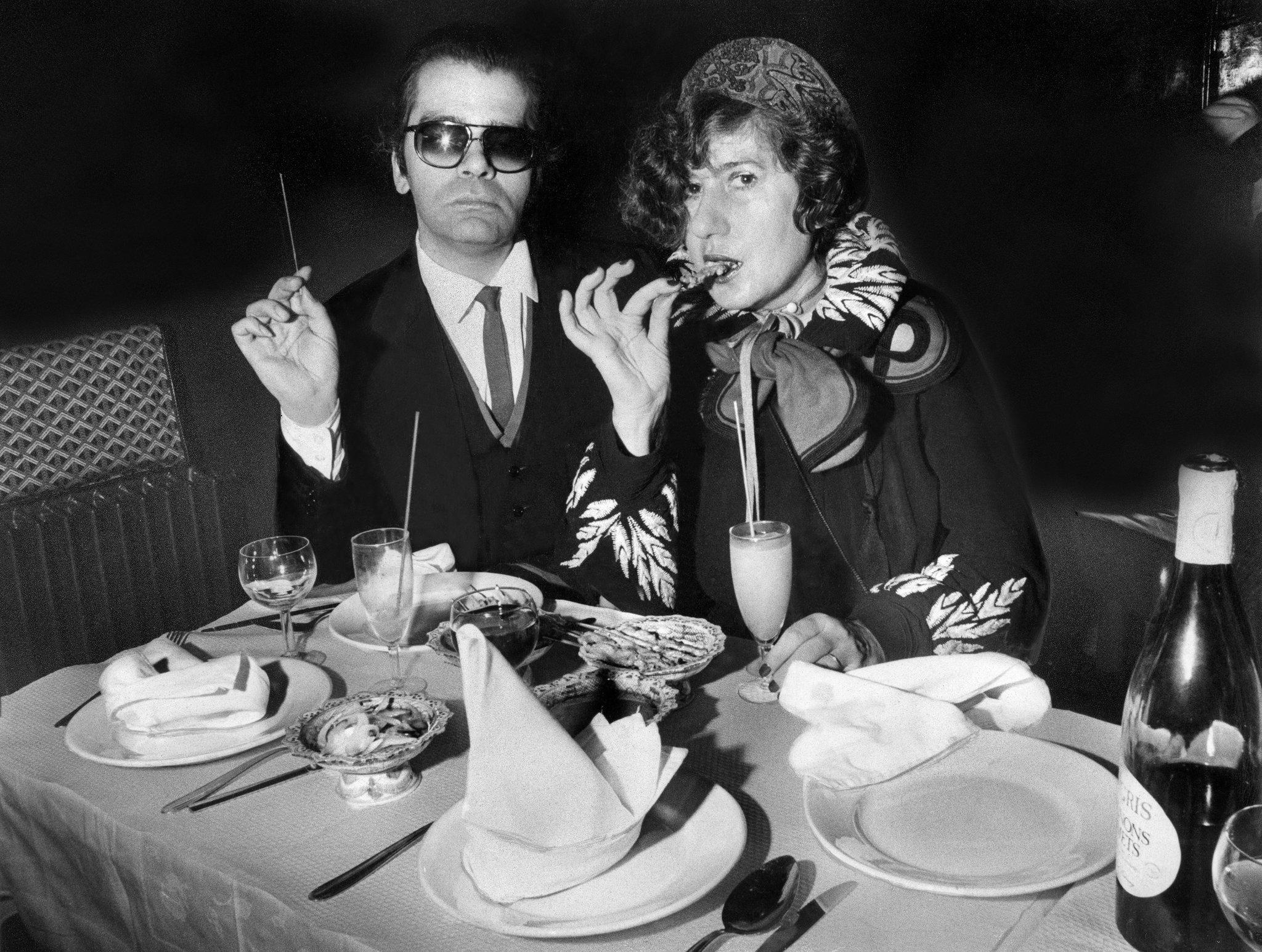 Six Decades of Karl Lagerfeld Karl lagerfeld, Lagerfeld