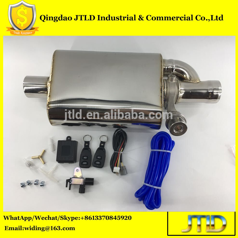 Electric Remote Control Valve Car Exhaust Muffler | jtldautomotive