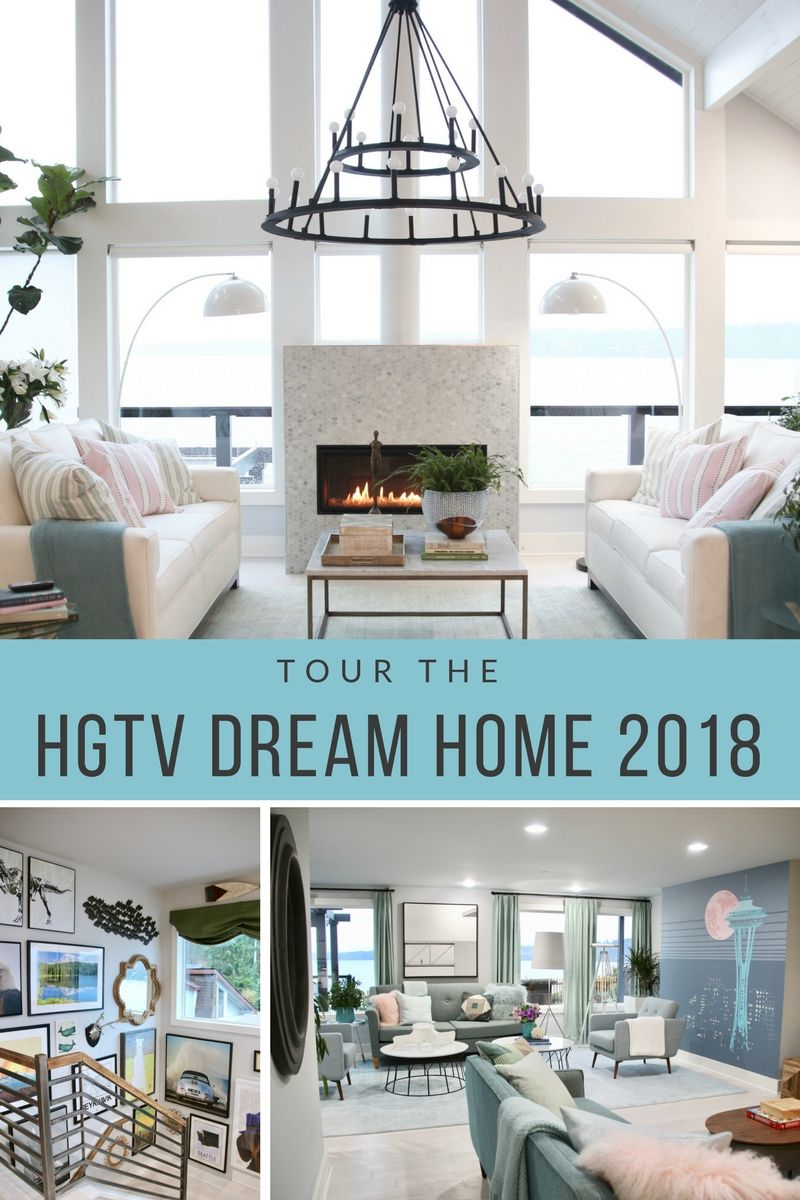 Take An Intimate Behind The Scene Tour Of Hgtv S 2018 Dream Home Located On The Puget Sound In Gig Harbor Wa With Hgtv Dream Home Hgtv Dream Homes Dream House
