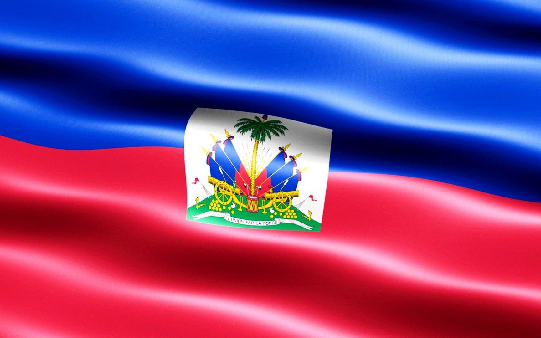 Flag Of Haiti Wallpaper Drapeau Fonds Decran Hd Drapeaux