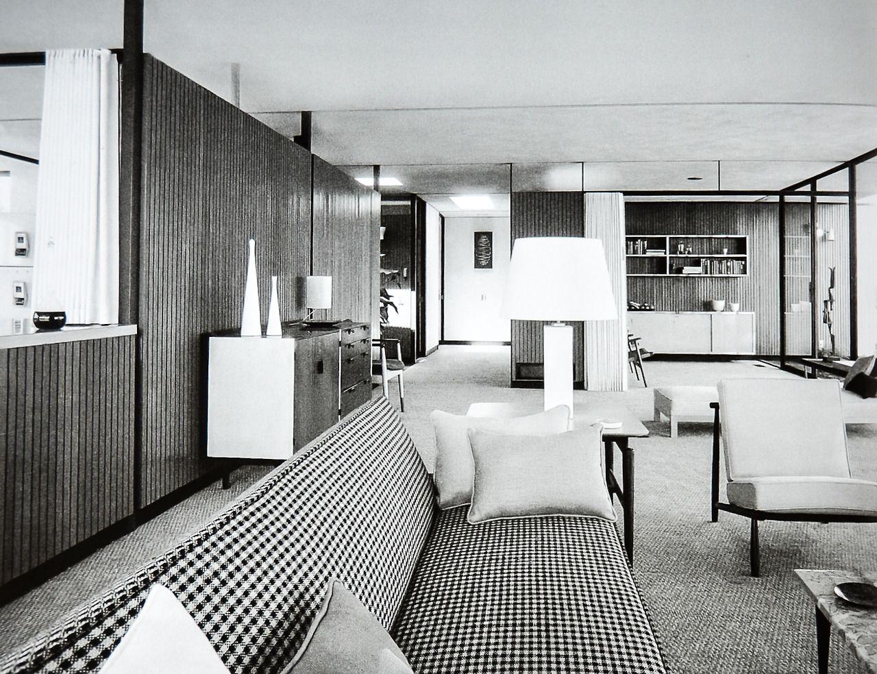 Case study house architect craig ellwood bel air for Case interior design