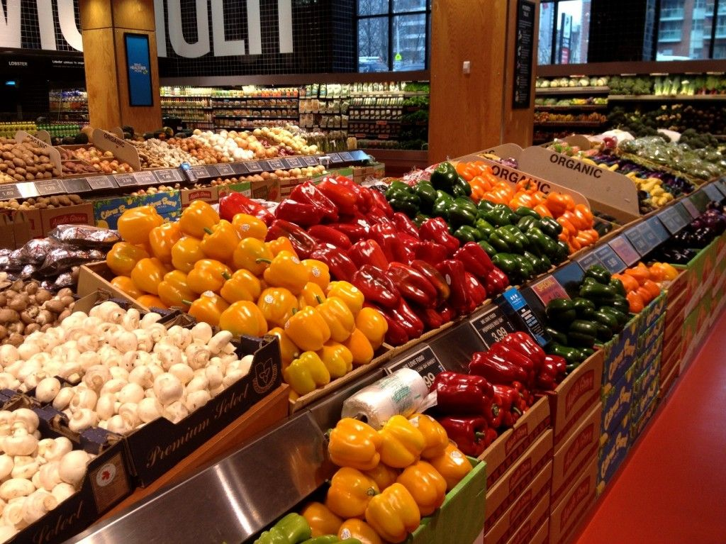 Loblaws Maple Leaf Gardens Produce Grocery store, Fruit