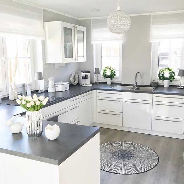 """HOME DESIGN on Instagram: """"Credit � @wohn.emotion #kitchendesign #interiordesign #kitchen #interiorstyling #interiordesigner #interior"""""""