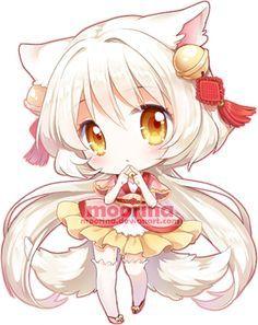 Chibi Girl Cat Anime Chibi Cute Anime Chibi Kawaii Chibi