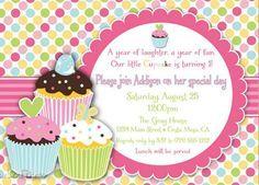 Baby Girl 1st birthday Card Ideas Kids Birthday Invitations Baby