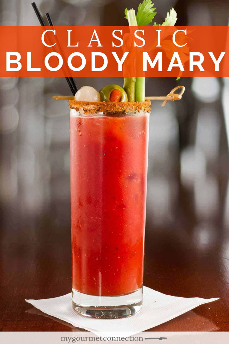 Pin On Bloody Mary Cocktail Recipes