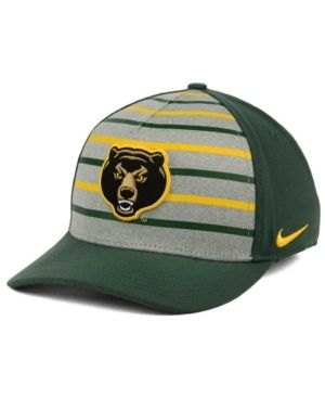 683aced3d Nike Baylor Bears Classic Verbiage Swoosh Cap - Green OSFM ...