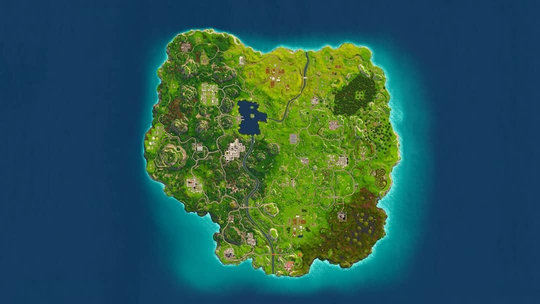 Fortnite Map Fortnite Epicgames Epic Tfue Battleroyale Omg