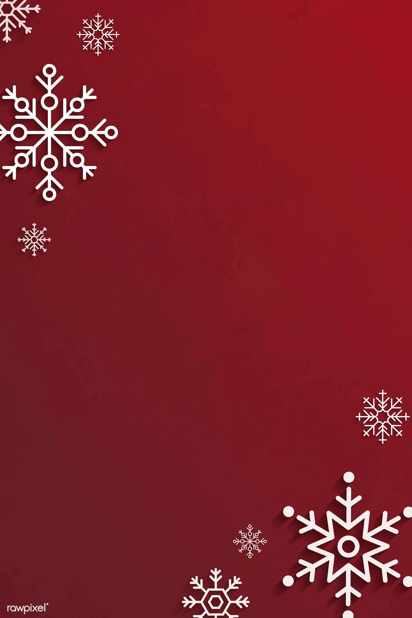 Download Premium Vector Of Snowflake Christmas Frame Design On A Red Christmas Frames Wallpaper Iphone Christmas Cute Christmas Wallpaper