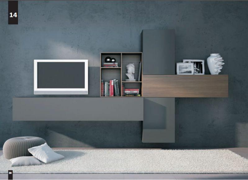 Composizioni Soggiorno Design ~ Kico living composizione n. 14 moderno soggiorno il soggiorno