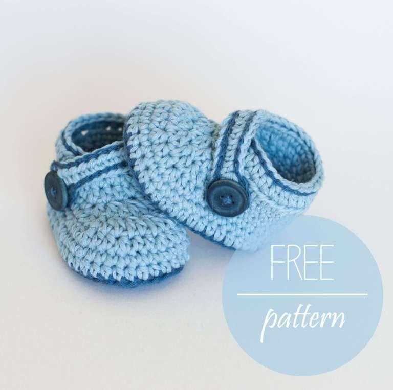 20 Crochet Baby Bootie Boy Free Pattern Baby Stuff