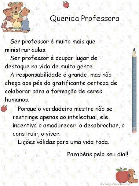 Populares dia dos professores | Frases Legais | Pinterest | Professores, Dia  KO27