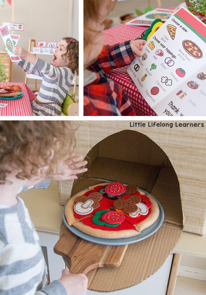 Pizza Shop Dramatic Play Dramatic Play Preschool Dramatic Play