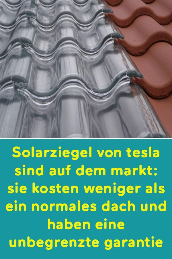 Photo of Solar tiles from tesla are on the market: they cost less than a normal one …