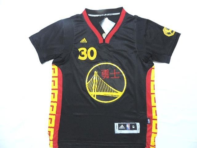 purchase cheap 60358 931d8 Curry #30 Golden State Warriors Adidas Chinese New Year Game ...