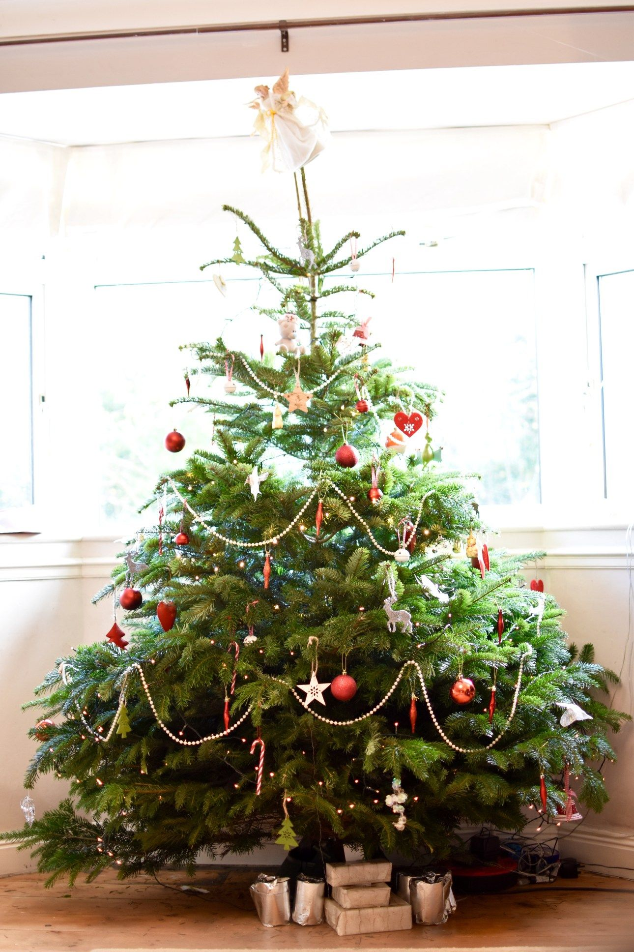 A Scandinavian decoraretd Christmas tree from Pines and Needles