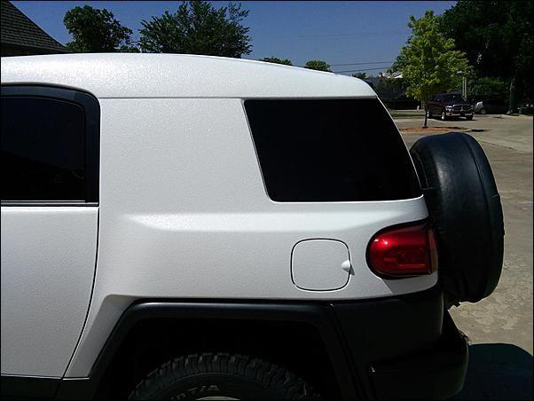 White Line X Bedliner On An Fj With Images Toyota Fj Cruiser