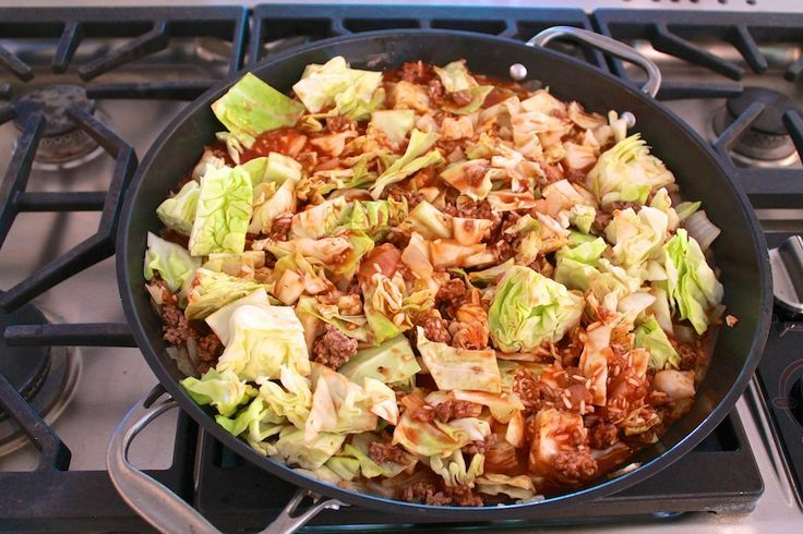 Photo of Unstuffed Cabbage Roll Skillet-Unstuffed Cabbage Roll Skille…