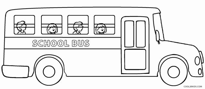 School Bus Coloring Pages School Bus Coloring Pages For Kids Bus