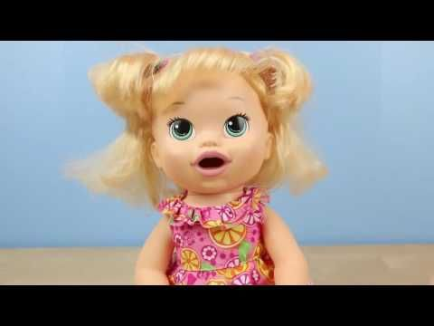 Liked On Youtube Baby Alive Margie Mccabe Goes To Toys R Us Baby Alive Snackin Sara Eats And Poops Play Doh Food Baby Alive Baby Toys Baby Cooking
