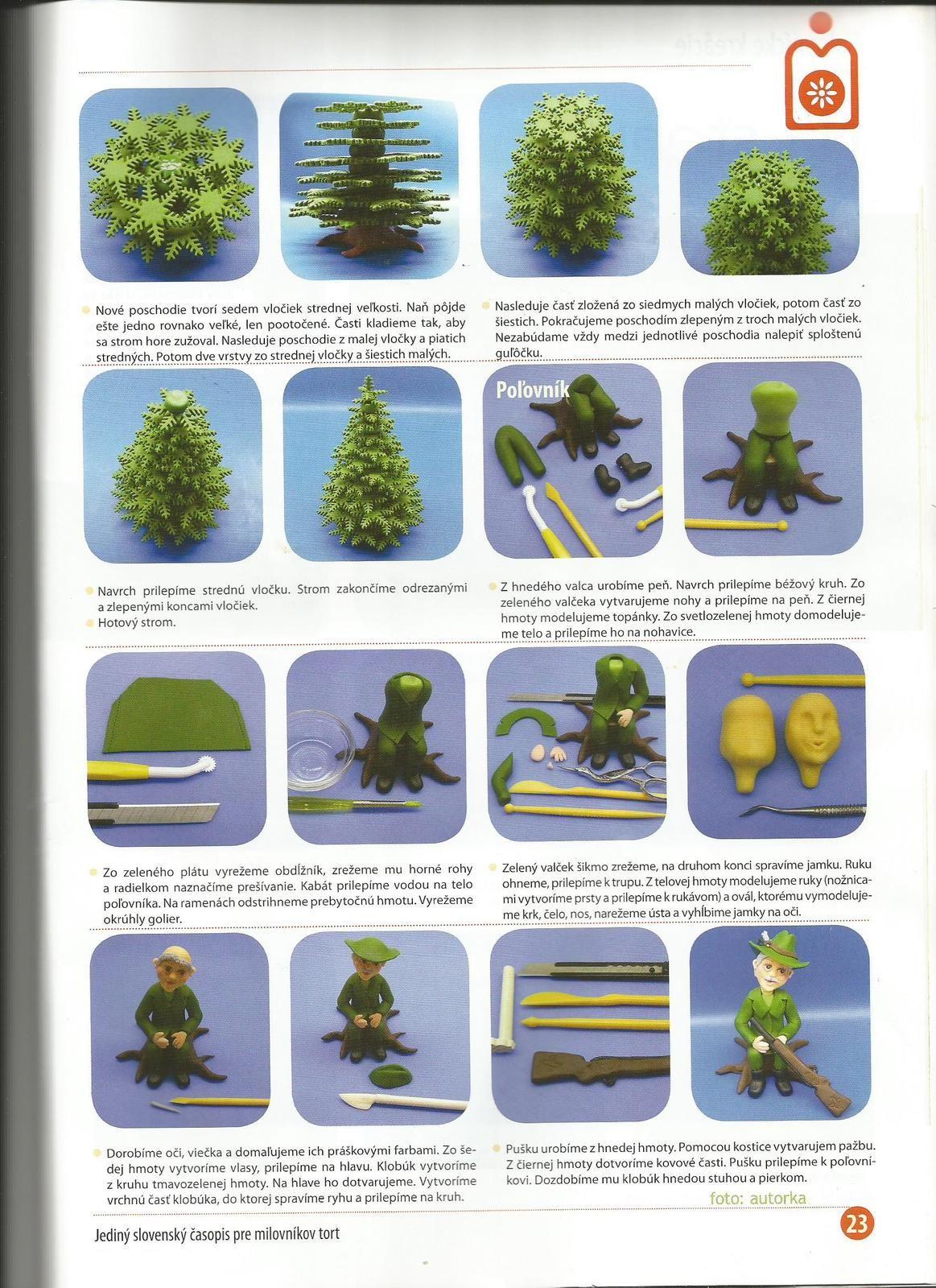 Marcipánové torty 2 - fotopostupy, recepty - Rece... - str. 51