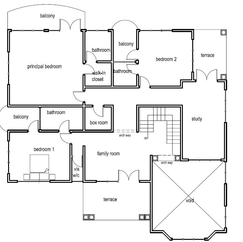 Dream Home Design Plan for Ghana and All Africa Countries