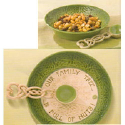 Celtic Heritage Nut Bowl w/ Spoon