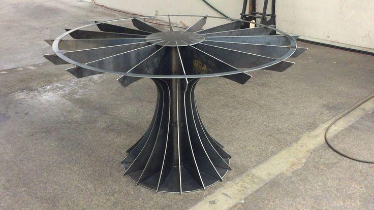 Vk fierros y metal muebles de for Muebles industriales metal baratos