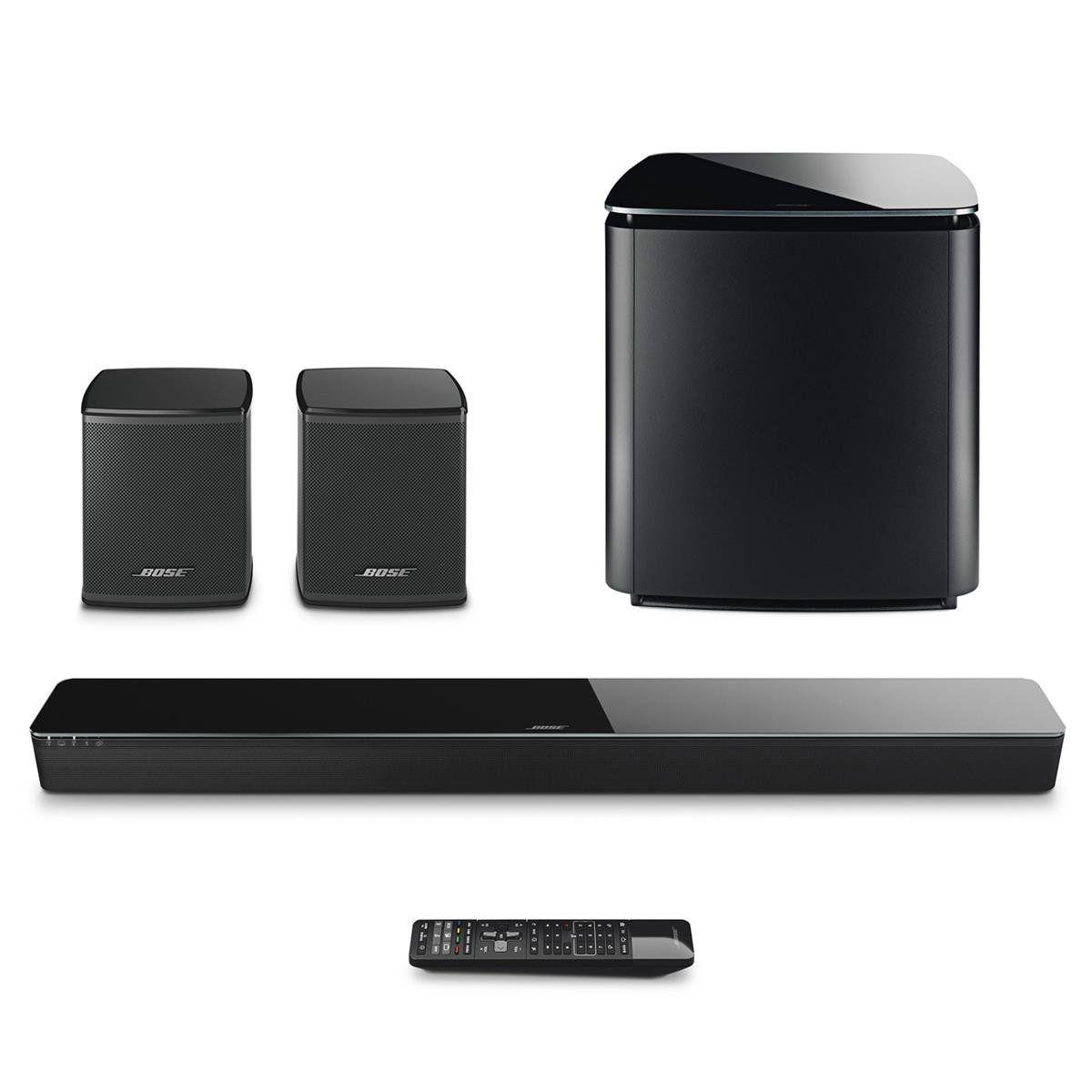 bose soundtouch 300 soundbar bundle with wireless acoustimass 300 bass module bose virtually. Black Bedroom Furniture Sets. Home Design Ideas